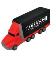 Semi Truck - Red/Black