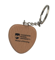 Heart Wood Keychain