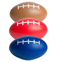 Football - Brown, Red, Blue